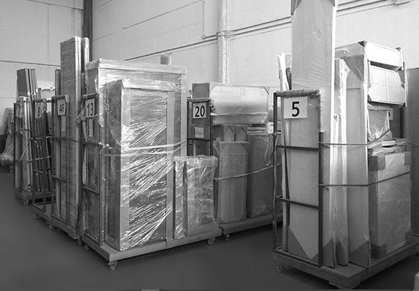 Almacén y montaje de muebles SERVITEC Madrid