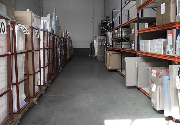 Almacén de muebles en Madrid Valdemoro SERVITEC