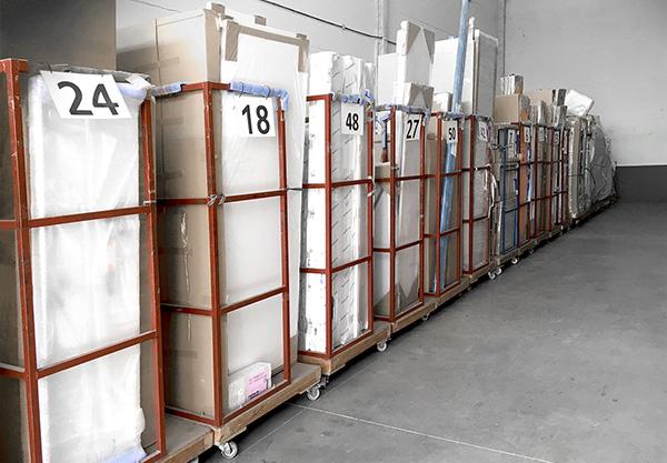Especialistas en almacenaje de muebles, montaje y distribucion