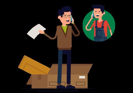 Almacenaje y distribución de mobiliario