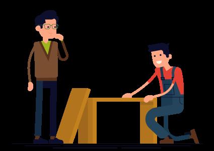 Expertos en montaje de muebles